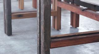 枕木 家具 制作 販売 オーストラリア 中古枕木 テーブル 脚