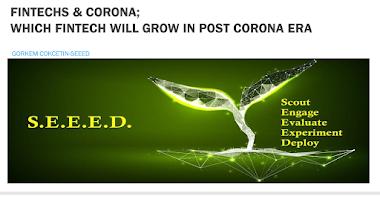 FINTECHS & CORONA; WHICH FINTECH WILL GROW IN POST CORONA ERA