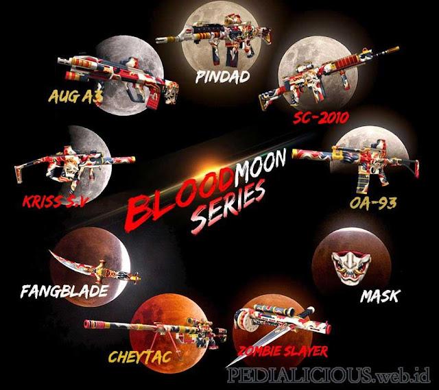 Harga & Statistik Seri BloodMoon Senjata Point Blank