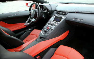 Lamborghini Aventador Premium Lether, Sport Front Seats