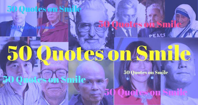 50 Quotes on Smile   Famous, Cute, love quotes in English with Images