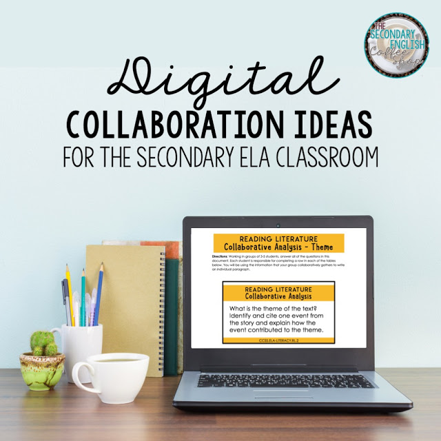Tips for engaging middle school ELA and high school English students in digital collaboration