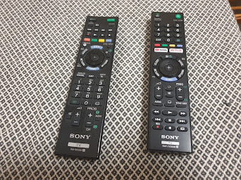 Sony remote controls