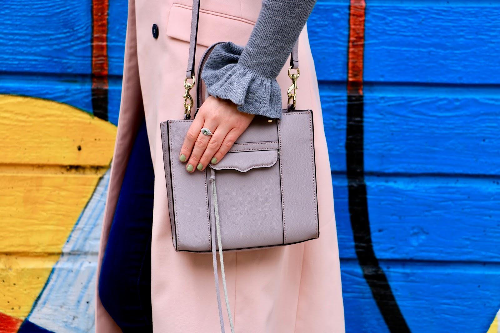 rebecca minkoff top handle purse