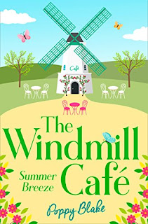 Book cover of The Windmill Cafe by Poppy Blake