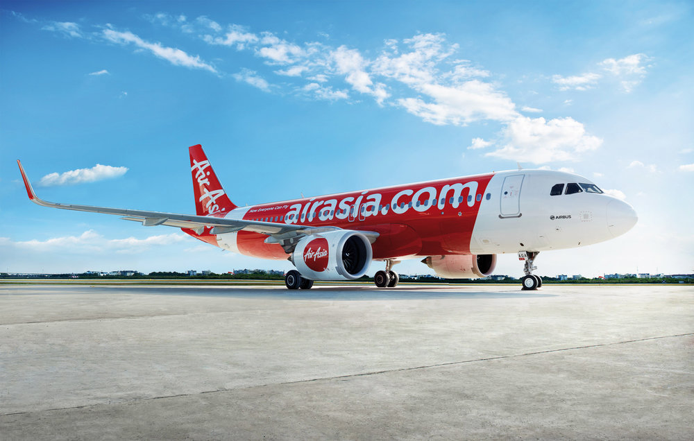 AirAsia A320 corporate photo