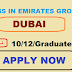 jobs in emirates group dubai 2019
