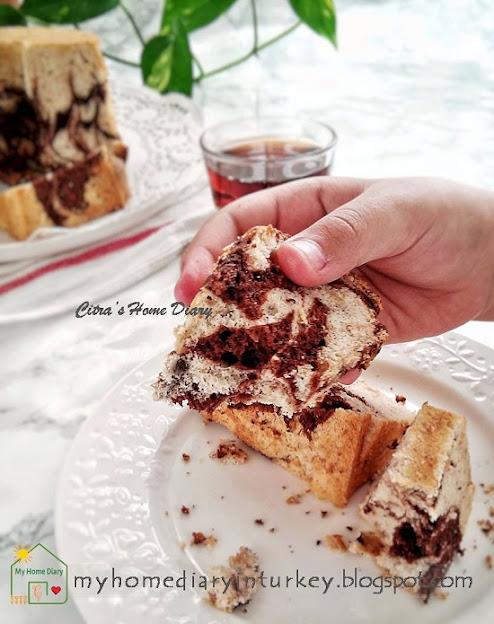 Banana Egg White Cake Recipe / Chiffon Cake Pisang dari Putih telur (Chiffon putih telur)   Çitra's Home Diary