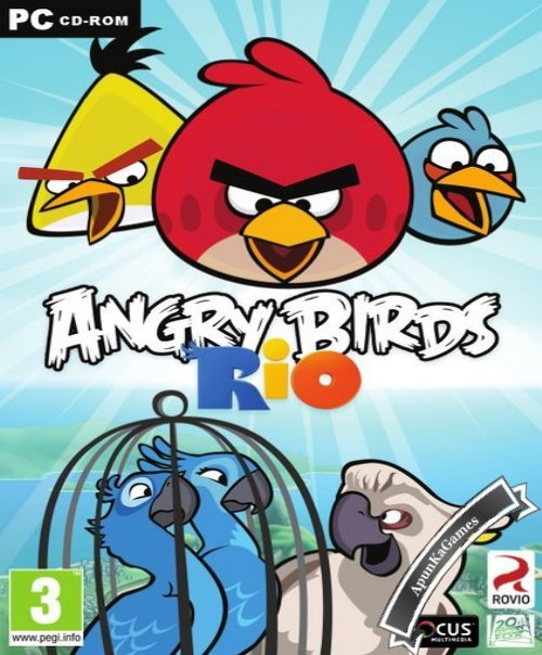 Angry Birds Rio PC Full Version Free Game Download (55 MB