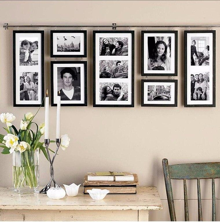 Decoration Ideas To Display Family Photos On Your Walls Creative Diy