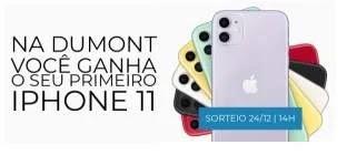 Cadastrar Promoção Seu Primeiro iPhone 11 Dumont FM