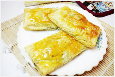 Membuat Puff Pastry Apple Pie yang enak