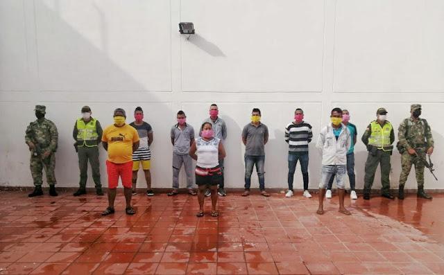 hoyennoticia.com, NUEVE CAPTURADOS POR VIOLACIÓN A MEDIDA SANITARIA EN CHIRIGUANÁ