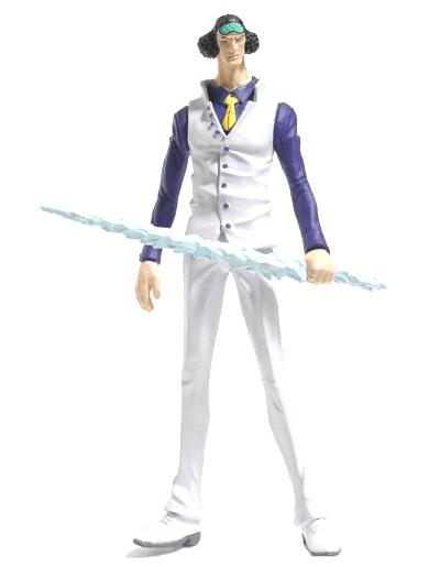 Kuzan. apodado Aokiji coleccion oficial de figuras de one piece