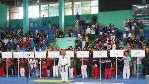 Kejuaraan Taekwondo  Gubernur Cup Diikuti Oleh 659 Peserta Dari Seluruh Jawa barat