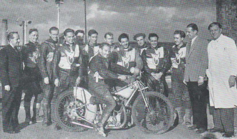 Speedway Archive 1950 Team Gallery