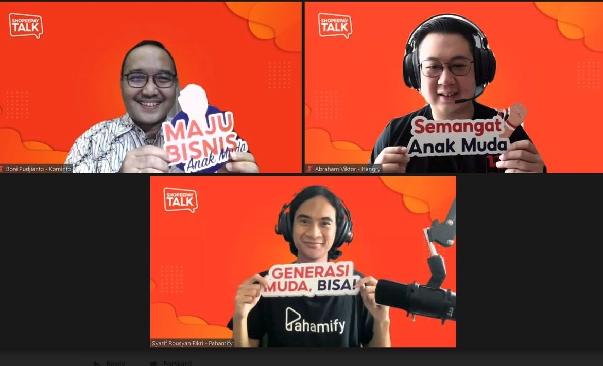 ShopeePay Talk Bangkitkan Semangat Bisnis Generasi Muda