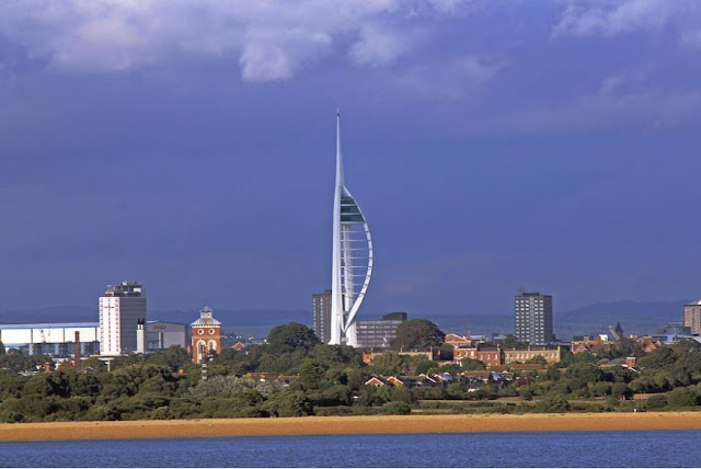 Wall Art of Spinnaker Tower
