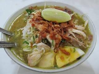 Soto - makanan khas Lamongan