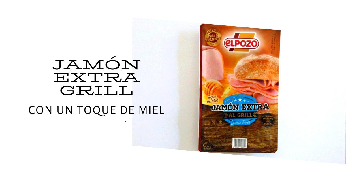 JAMÓN EXTRA GRILL, CON UN TOQUE DE MIEL