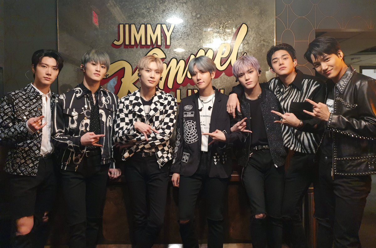 SuperM Performing 'Jopping' and 'Dangerous Women' on 'Jimmy Kimmel Live!'