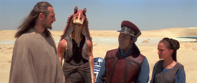 Star Wars: Episode I - The Phantom Menace (1999) Dual Audio [Hindi-English] 1080p BluRay ESubs Download