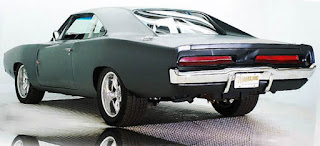 1970 Dodge Charger RT For Furious Movie Rear Picture