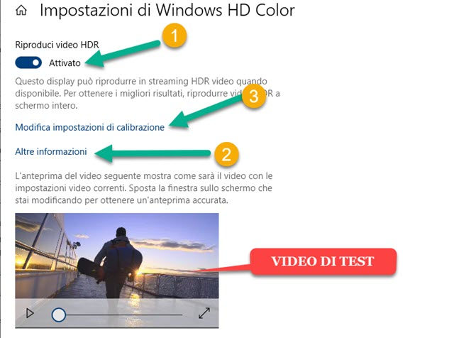 video HDR in Windows