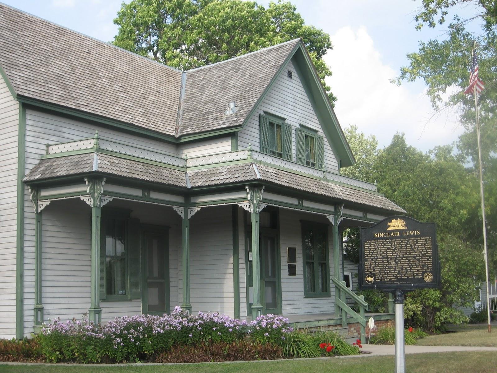 Road Trips Sauk Centre Minnesota Boyhood Home Of