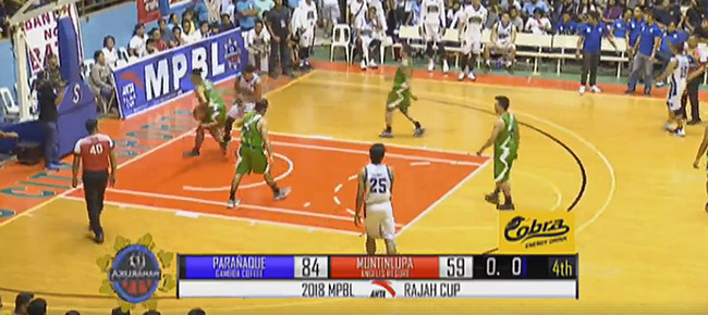 Parañaque Patriots def. Muntinlupa Cagers, 84-59 (REPLAY VIDEO) MPBL Semis Game 1 | April 5