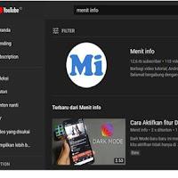 Cara Aktifkan Tema Gelap (Dark Mode) di YouTube PC dan Android
