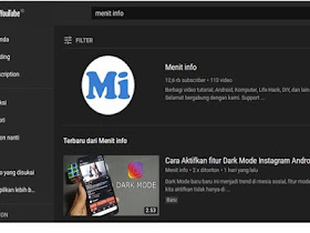 Cara Aktifkan Tema Gelap (Dark Mode) di YouTube PC dan Android