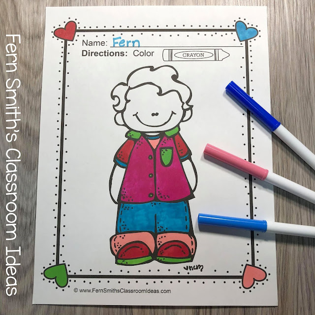 Click Here for These 75 Cute Back to School Students Coloring Pages