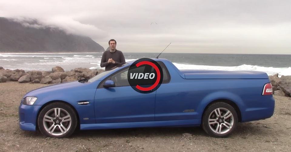 Aussie Holden Ute In California Is A True Oddity