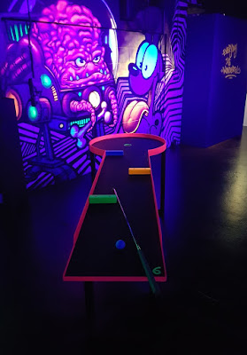 Pit-Pat table golf at The Floodgate in Digbeth, Birmingham