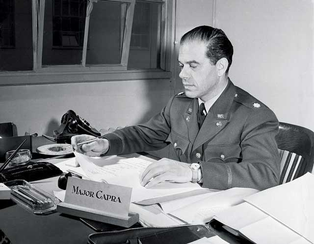 Major Frank Capra, 14 February 1942, worldwartwo.filminspector.com
