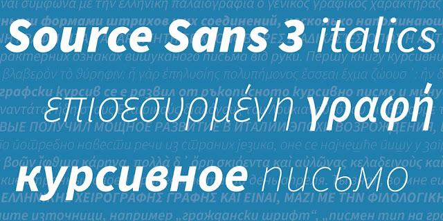 Apa yang baru di Source Sans 3