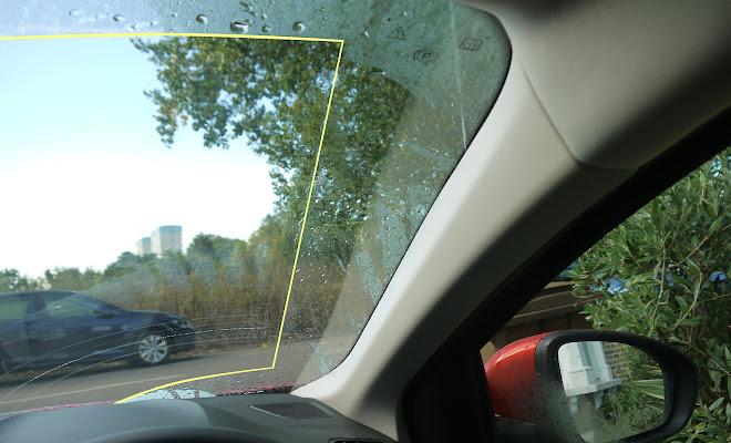 Renault Megane wiper pattern