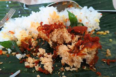 Hajah Maimunah, fried fish roe