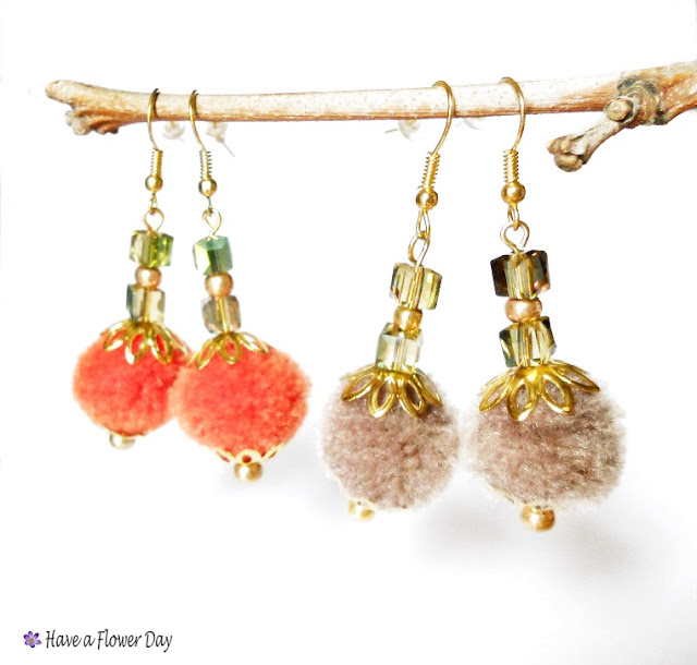 Pendientes boho chic · Boho chic earrings