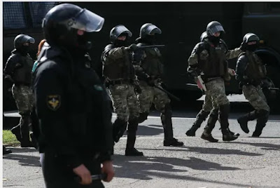 Hackers leaked personal Belarusian police data over the weekend