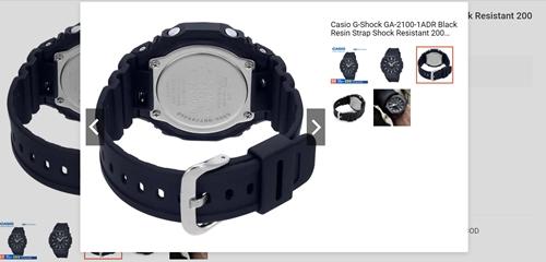 Casio G-Shock GA-2100-1ADR Black