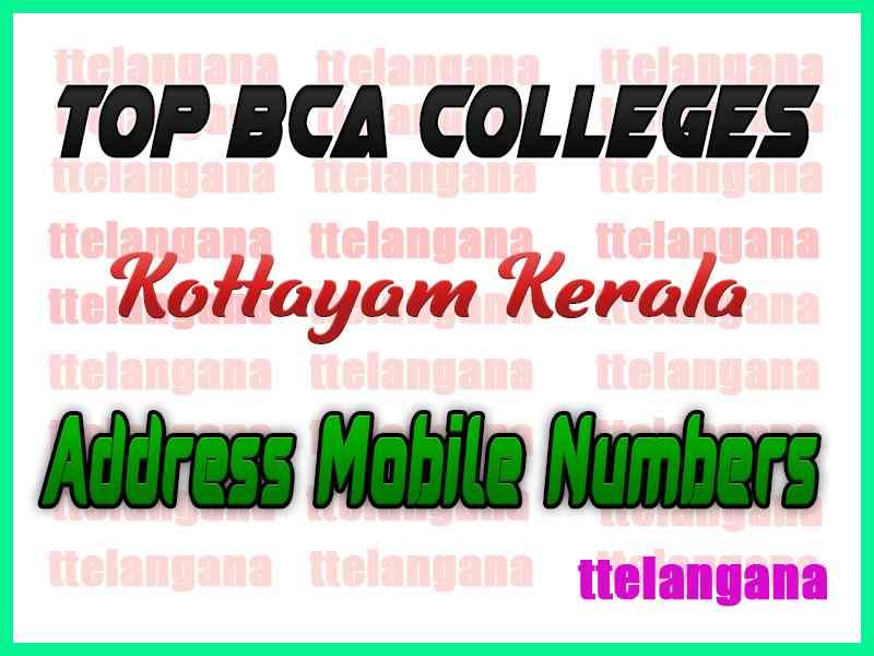 Top BCA Colleges in Kottayam Kerala