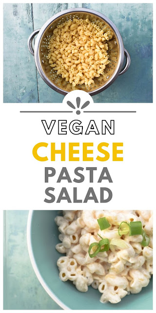 Vegan Creamy Cheese Pasta Salad for Lunch