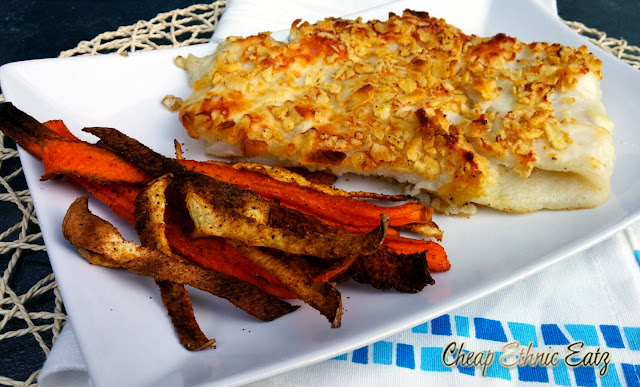 Crisps Fish & Veggie Chips by Cheap Ethnic Eats (inspired by The Goonies for Food 'n Flix)