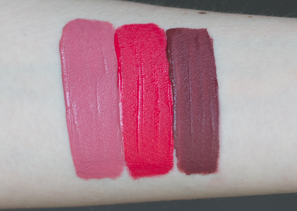 Lime Crime Velvetines True Love Set Swatches
