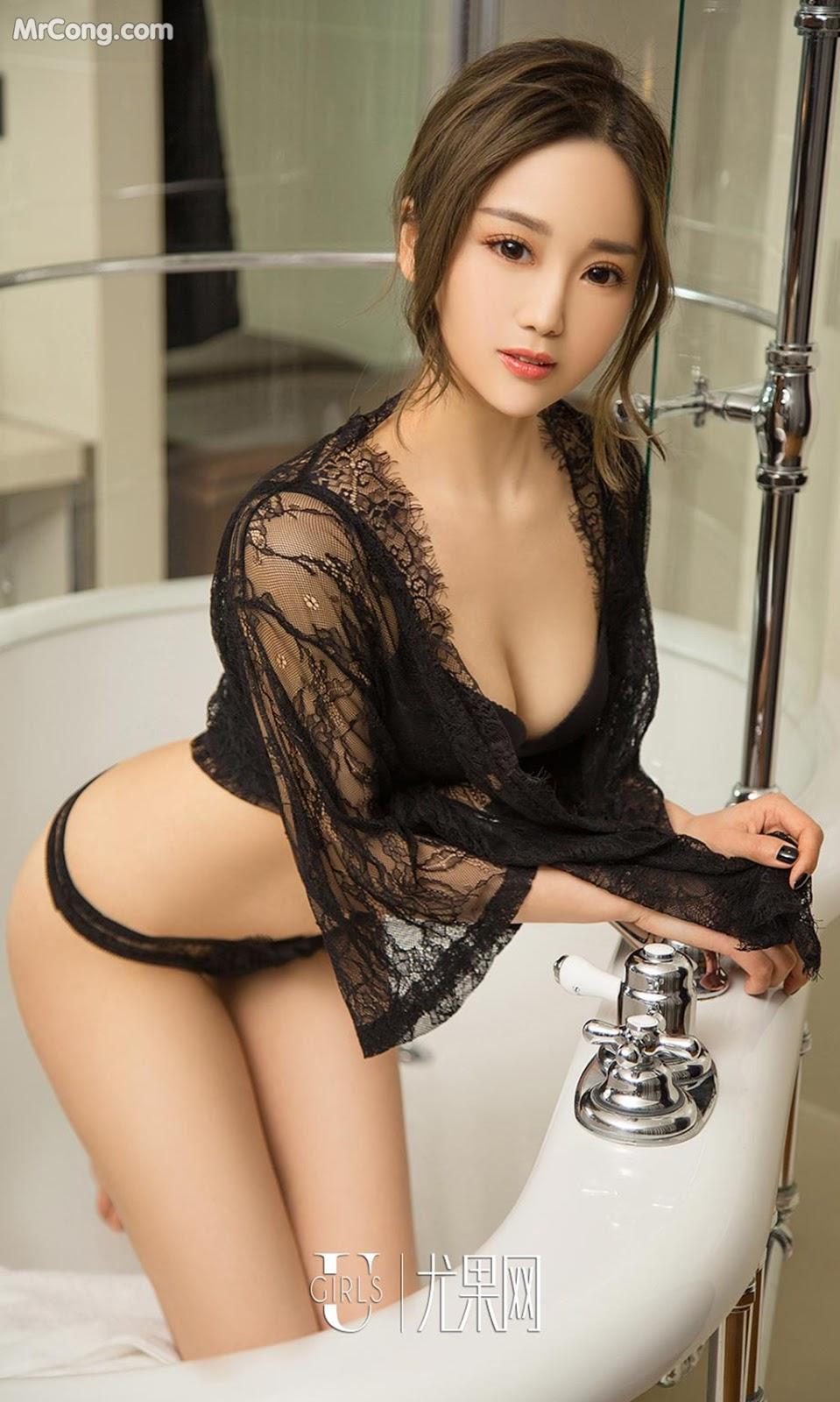 Image UGIRLS-Ai-You-Wu-App-No.1022-Yan-Yi-Xi-MrCong.com-023 in post UGIRLS – Ai You Wu App No.1022: Người mẫu Yan Yi Xi (颜亦汐) (40 ảnh)