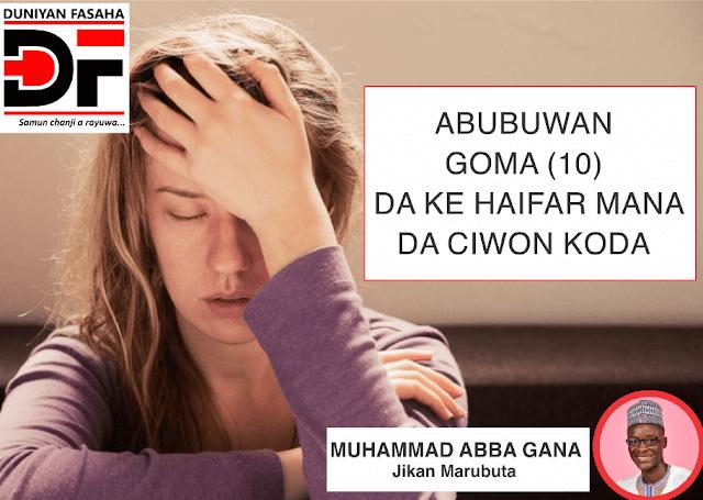 Abubuwa Goma (10) Da Ke Haifar Mana Da Ciwon Koda