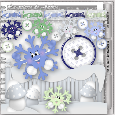 Wilma4ever blog train - Winter Blast - CU freebie