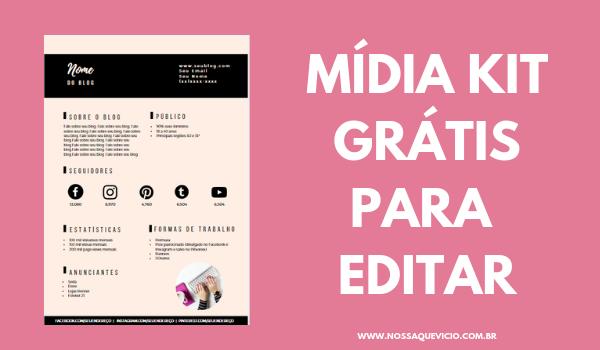 COMO CONSEGUIR PARCERIAS PARA SEU BLOG + MÍDIA KIT GRÁTIS PARA EDITAR
